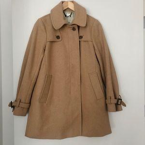 J.Crew Factory Camel Coat